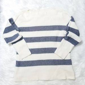 Tommy Hilfiger Striped Knit Sweater Shirt